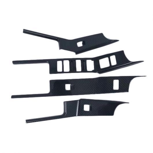 AL インテリア 装飾 適用: ランド ローバー レンジ ヴェラール 2017 2018 アームレスト ウインドウ リフト コントロール スイッチ ボタン カバー トリム 4ピース タイプ002 AL-FF-1509