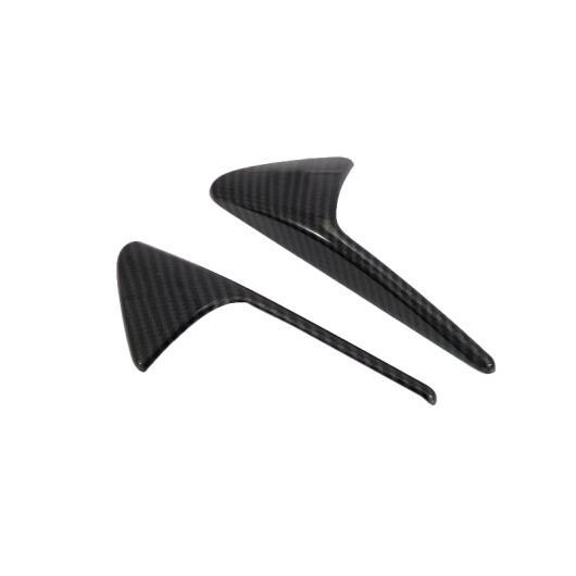 AL 適用: テスラ モデル 3 アウトサイド ボディ エアコン AC 吹き出し口 ベント フロー フェンダー モールディング カバー キット トリム カーボンファイバー スタイル タイプ001 AL-FF-1558