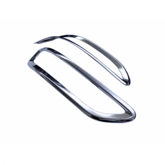 AL ABS クローム フロント フォグライト カバー フォグランプ インナー スモール ライト トリム 適用: 起亜 スポーテージ KX5 2016-2017 タイプ001 AL-FF-1649