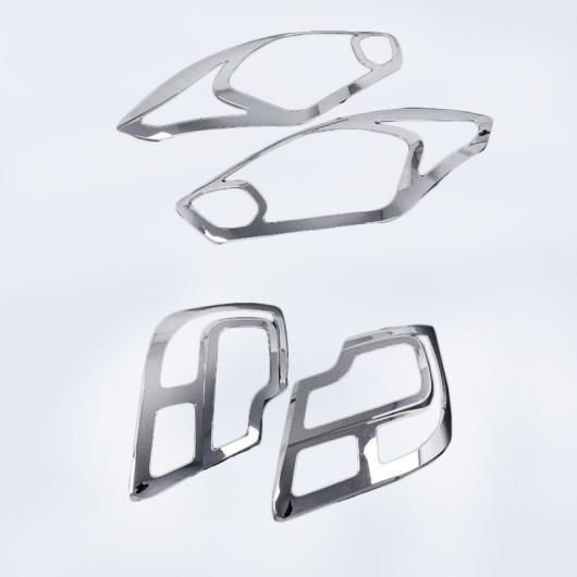 AL ABS クローム フロント ランプ カバー ヘッドライト ブラック テール リア ライト トリム 適用: スズキ スイフト デザイア 2017 2018 両方 AL-FF-1655