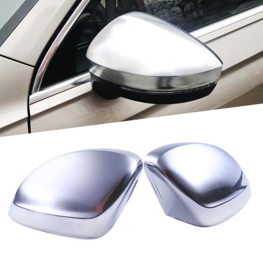 AL ABS クローム サイド ミラー ケース ドア ウイング カバー マット ヘッド シェル ハウジング 適用: VW フォルクスワーゲン ティグアン 2017 2018 AL-FF-1640