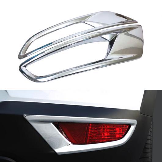 AL ABS クローム リア フォグライト ランプ カバー フレーム ステッカー ストリップ エクステリア 装飾 適用: マツダ CX-3 CX3 2017 2018 AL-FF-1665