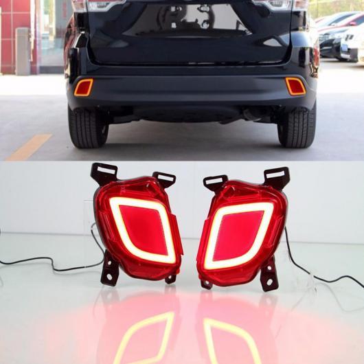 AL LED リア ドライビング ライト 適用: トヨタ ハイランダー クルーガー XU50 2014 2015 2016 ブレーキ バンパー ランプ ワーニング フォグ AL-FF-1719