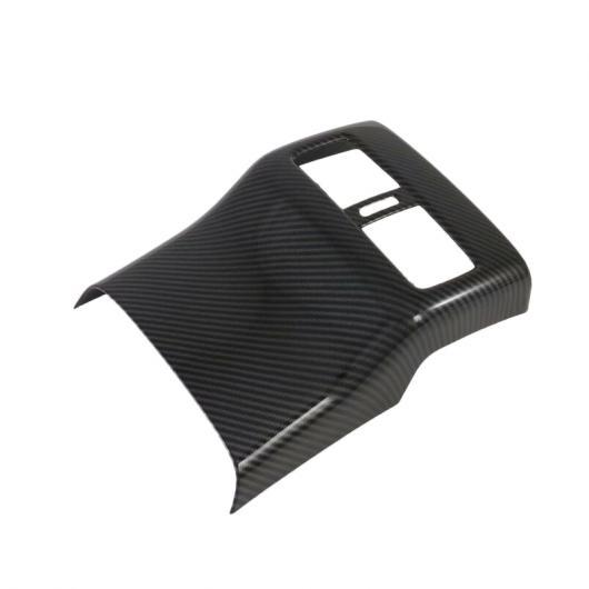 AL クローム エア 吹き出し口 トリム 適用: マツダ 3 M3 2019 2020 カーボンファイバー スタイル リア コンディション ベント 装飾 フレーム カバー ステッカー タイプ001 AL-FF-1857