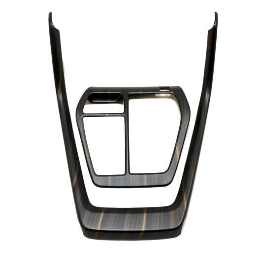 AL バック コンソール ドリンクホルダー カバー クローム インテリア トリム 適用: トヨタ RAV4 RAV 4 XA50 50 2019 2020 木目調 タイプ003 AL-FF-1906