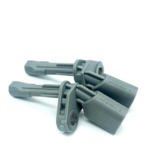 AL リア右&左 ABS スピード センサー 2ピース 適用: フォルクスワーゲン パサート B7 MK6 ティグアン シャラン イオス CC WHT003859A WHT003858A AL-FF-2851