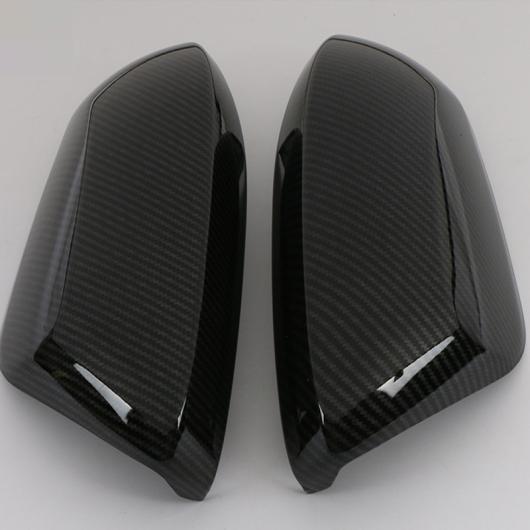 AL ドア サイド ウイング バックミラー ミラー ケース サイド ABS クローム ミラー カバー トリム 適用: トヨタ カローラ 2019 2020 2ピース カーボン AL-FF-3509
