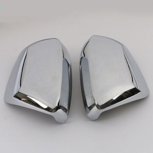 AL ドア サイド ウイング バックミラー ミラー ケース サイド ABS クローム ミラー カバー トリム 適用: トヨタ カローラ 2019 2020 2ピース クロム AL-FF-3509