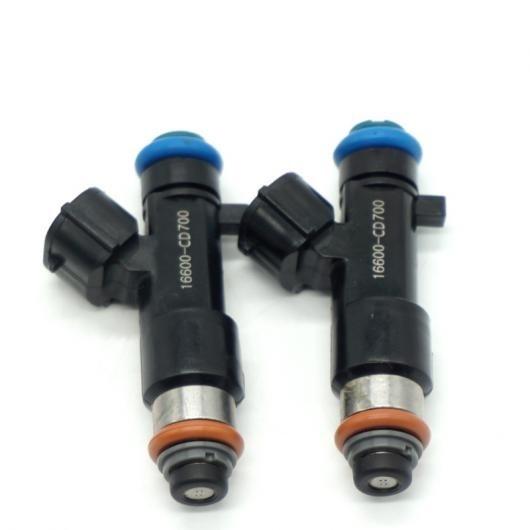 AL 2ピースセット フューエル インジェクター ノズル 16600-CD700 適用: 日産 350Z ムラーノ 2005-2007 インフィニティ FX35 G35 M35 0280158042 AL-FF-2994