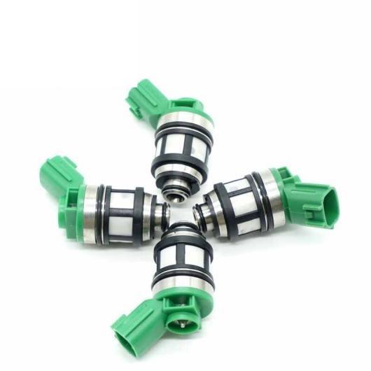 AL 4ピースセット フューエル インジェクター ノズル JS4D5 JS4D2 適用: 日産 フロンティア ピックアップ エクステラ 2.4L KA24DE ピックアップ KA24E 16600-1S700 AL-FF-3069