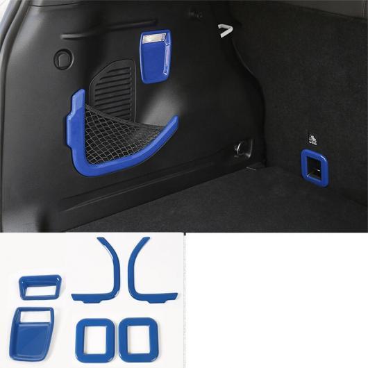 AL ブルー ABS ダッシュボード ギア ルーフ ライト トランク アームレスト トリム 適用: ジープ レネゲード 2016 2017 2018 2019トランク トリム AL-FF-3554