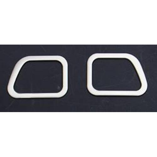 AL ABS ダッシュボード 吹き出し口 トリム 適用: 三菱 パジェロ スポーツ モンテロ インテリア アクセサリー アップサイド 吹き出し口 トリム AL-FF-3909