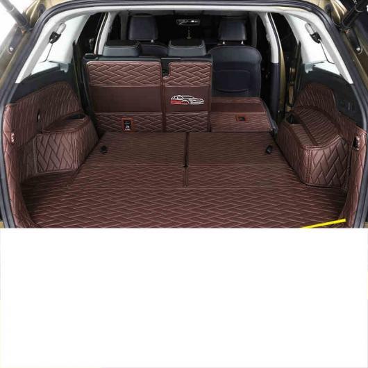 AL レザー トランク マット カーゴ ライナー 適用: シュコダ コディアック ラグ カーペット インテリア アクセサリー タイプ 8・タイプ 7 AL-FF-3733