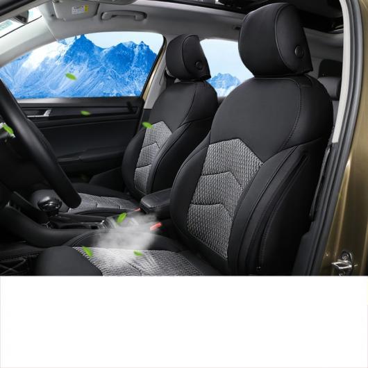 AL ラグジュアリー レザー カーシート クッション カバー 適用: シュコダ 17-18 5 シート タイプ 2~2019 5 シート タイプ 2 ◆適用: ピロー AL-FF-3741