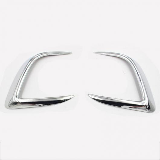 AL ABS フロント リア フォグライト カバー トリム 適用: 三菱 アウトランダー スポーツ ASX RVR 2011-2016 インテリア 13-15 フロント 1 AL-FF-4033