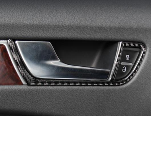 AL カーボンファイバー セントラル コントロール ステアリング ホイール トリム ギア パネル 適用: ドア ハンドル トリム インナー ドア ハンドル AL-FF-4059