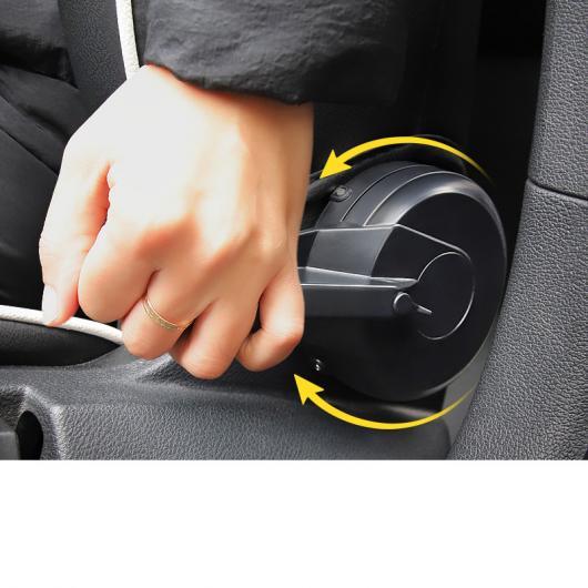 AL ABS カーシート アジャスター ブースター トリム 適用: アウディ A3 2013 2014 2015 2016 2017 2018 2019 インテリア アクセサリー 2 ピース AL-FF-4050