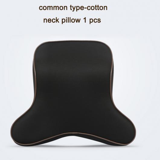 AL コットン スウェード レザー カーシート ネック ショルダー 腰椎 ピロー インテリア アクセサリー タイプ 1 AL-FF-4193