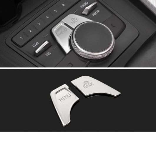 送料無料 AL ABS セントラル コントロール ボタン パネル ギア マルチメディア 至高 新入荷 流行 トリム 適用: 2018 2ピース A4 2020 アウディ 2019 タイプ 2017 2 AL-FF-4261