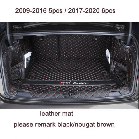 AL レザー トランク マット カーゴ ライナー 適用: アウディ A4 Q5 Q3 ラグ カーペット アクセサリー A4 タイプ 3 AL-FF-4292