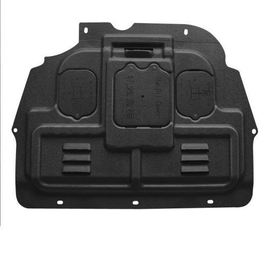 AL プラスチック スチール エンジン ボトム シャーシ ワイヤー ボード 適用: プジョー 5008 3008 2019 2020 保護 シャーシ ボード ブラック AL-FF-4316