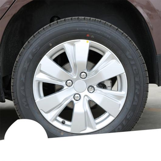 AL ABS ホイール スクリュー カバー 適用: プジョー 3008 5008 508 装飾 モールディング アクセサリー 20 ピース ツール AL-FF-4346