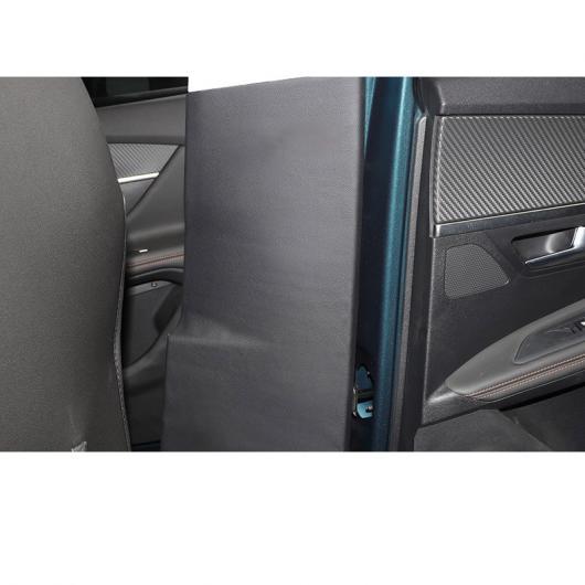 AL レザー インナー ドア ミドル ピラー 保護 マット 適用: プジョー 3008 5008 インテリア モールディング 3008 2ピース・5008 2ピース AL-FF-4377
