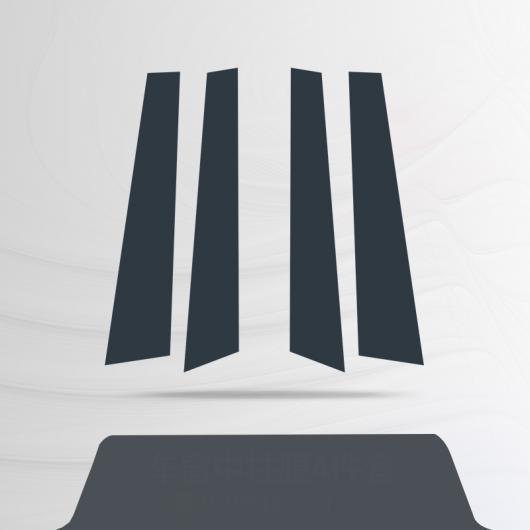 AL TPU インテリア セントラル コントロール ウインドウ ピラー GPS スクリーン フィルム 保護 ステッカー 適用: BMW X2 ウインドウ ピラー フィルム AL-FF-4483
