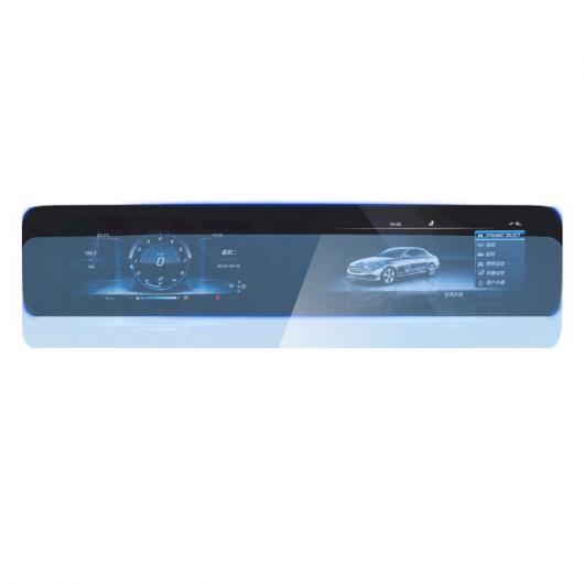 AL ガラス ナビゲーション スクリーン 傷つき防止 TEMPERED フィルム 適用: メルセデス ベンツ E クラス E200 E300 タイプ 1 AL-FF-4485