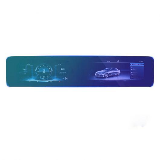 AL ガラス ナビゲーション スクリーン 傷つき防止 TEMPERED フィルム 適用: メルセデス ベンツ E クラス E200 E300 タイプ 3 AL-FF-4485