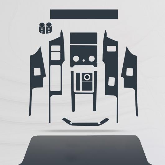 AL TPU ダッシュボード ギア GPS ナビゲーション スクリーン フィルム 保護 ステッカー 適用: レンジ ローバー ヴェラール 2018 2019 2020 タイプ 3 AL-FF-4577