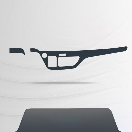 AL TPU インテリア ギア 保護 フィルム セントラル コントロール ステッカー 適用: ホンダ オデッセイ 傷つき防止 RC1-RC2 2013-2020 タイプ 1 AL-FF-4632