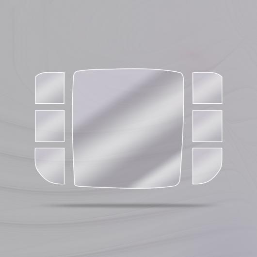 AL TPU セントラル コントロール マウス フィルム 保護 ステッカー 適用: メルセデス ベンツ A クラス A180 A200 2019 2020 タイプ001 AL-FF-4670