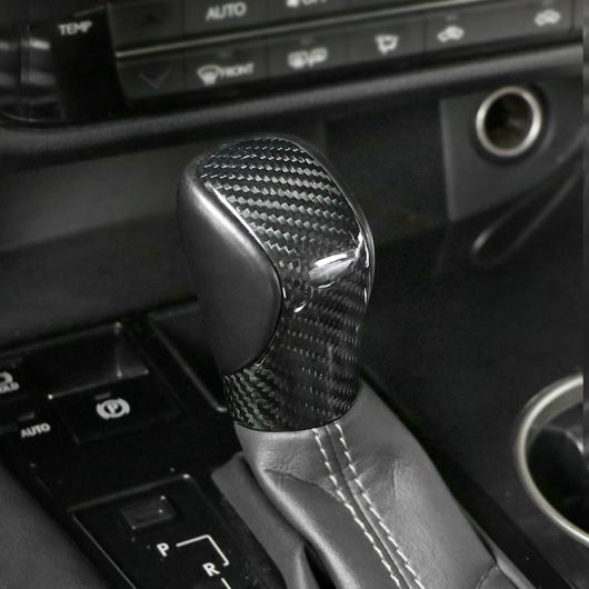 AL リアル カーボンファイバー ギア レバー カバー 適用: レクサス NX200 NX300 ES200 RX300 RX200T IS インテリア リアル カーボンファイバー AL-FF-4810