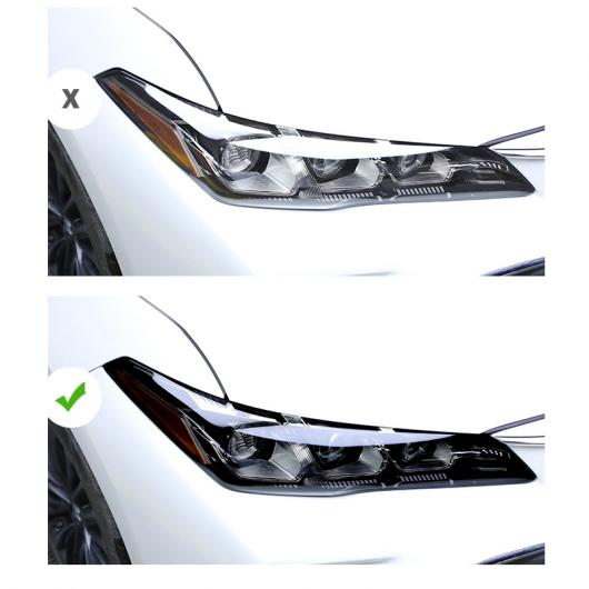 AL トランスペアレント TPU ヘッドライト フィルム 適用: トヨタ アヴァロン カローラ クラウン プラド RAV4 イゾア コースター アヴァロン~レビン AL-FF-4635
