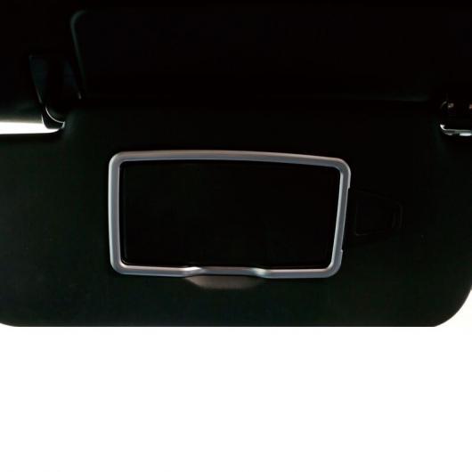 AL ABS 色 インテリア ミラー フレーム トリム 適用: メルセデス ベンツ GLE350 GLS ML GL S クラス 2015-2020 GLE~2014-2019 S クラス AL-FF-4641