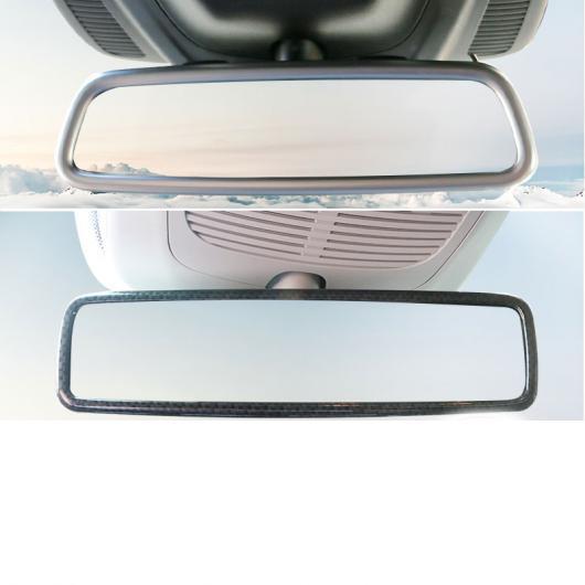 AL ABS インテリア バックミラー フレーム トリム メルセデス ベンツ GLE350 GLE450 GLS MLGL S クラス G マット シルバー・マット シルバー 2 AL-FF-4648