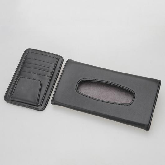 AL レザー インテリア ティッシュ ボックス カード バッグ 適用: レクサス NX ES RX NX200T ES200 250 RX200T ベージュ カラー・ブラック カラー AL-FF-4775