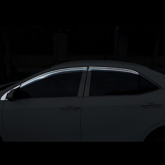 AL 適用: トヨタ カローラ E210 ウインドウ ポスト トリム クローム 装飾 インテリア アクセサリー 2014 2015 2016 2017 2018 10 ピース 2 AL-FF-5066