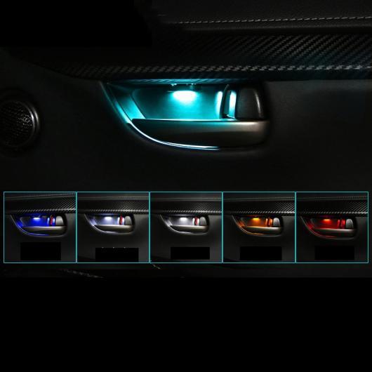 AL 適用: レクサス NX NX200 200T 300H ドア ボウル 装飾 ライト 装飾 インテリア モールディング アイス ブルー カラー~オレンジ カラー AL-FF-4830