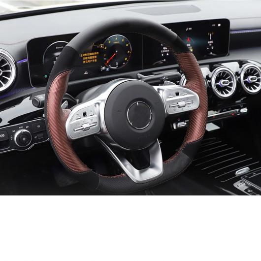 AL 適用: メルセデス ベンツ A クラス A180 A200 ステアリング ホイール カバー 手縫い インテリア モールディング アクセサリー タイプ 4~タイプ 8 AL-FF-4942