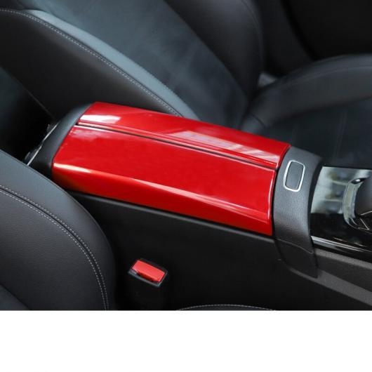 AL 適用: メルセデス ベンツ A クラス A180 A200 セントラル コントロール アームレスト トリム 装飾 カーボンファイバー ブラック~ブラック AL-FF-4955