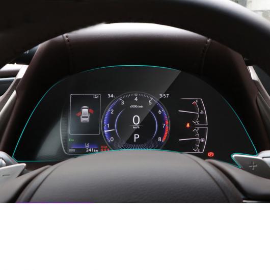 AL 適用: レクサス ES ES200 ES260 ES300H HD ダッシュボード スクリーン フィルム プロテクター インテリア アクセサリー ステッカー 2018 2 ピース AL-FF-4978