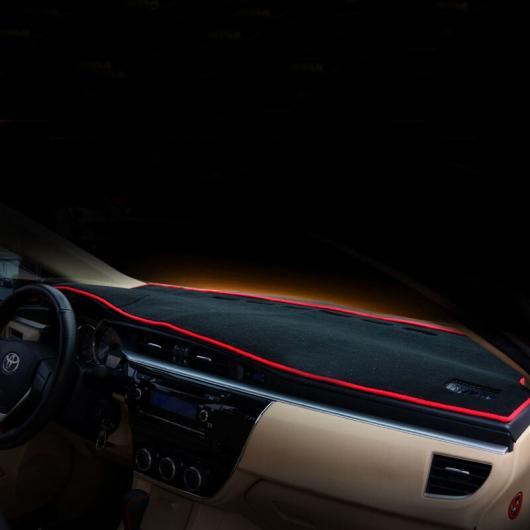 AL 適用: トヨタ カローラ E210 ダッシュボード リア ウインドウ サン シェード マット インテリア レッド エッジ 1~ブラック エッジ 2 AL-FF-5021