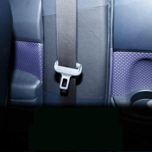 AL 適用: トヨタ カローラ E210 インナー ポスト マット プロテクター インテリア アクセサリー ファイバ レザー ブラック・ベージュ AL-FF-5027
