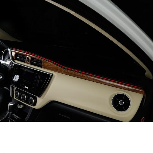 AL 適用: トヨタ カローラ E210 セントラル ダッシュボード トリム 装飾 インテリア アクセサリー 2014 2015 2016 2017 2018 1~3 AL-FF-5033