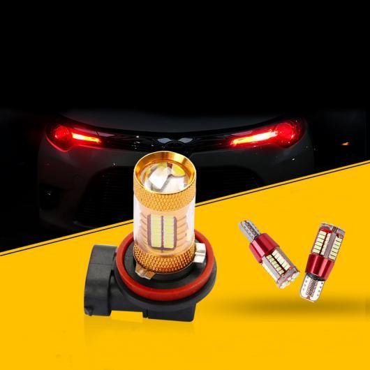 AL 適用: トヨタ カローラ E210 フォグライト LED ランプ 装飾 インテリア アクセサリー 2014 2015 アイス ブルー カラー~レッド カラー 1.6 L 1.4T AL-FF-5072