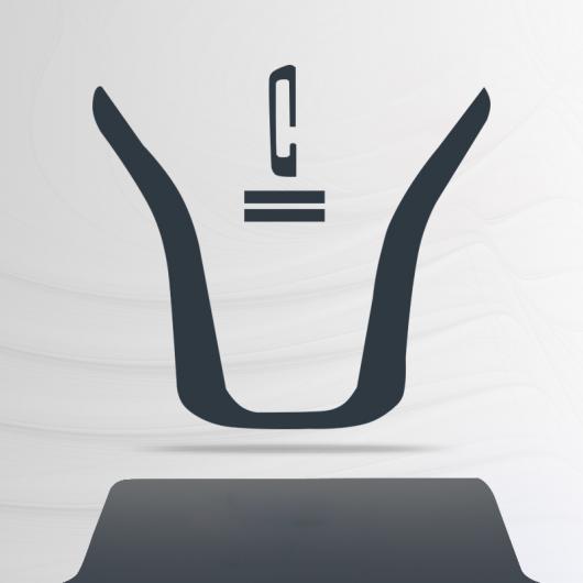 AL TPU インテリア フィルム セントラル ギア パネル コントロール ダッシュボード 保護 ステッカー 適用: アウディ A5 スポーツバック 2011-2016 1 AL-FF-5120