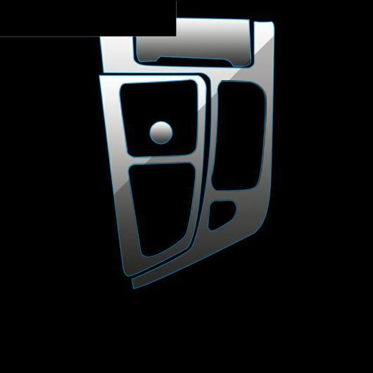 AL TPU インテリア フィルム セントラル ギア パネル コントロール ダッシュボード スクリーン 保護 ステッカー 適用: アウディ Q7 2017 2018 2019 1 AL-FF-5124