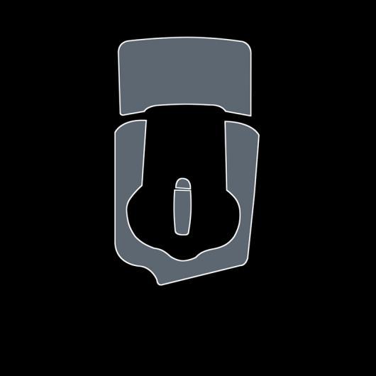 AL TPU インテリア フィルム セントラル ギア パネル コントロール ダッシュボード スクリーン 保護 ステッカー 適用: アルファ ロメオ 1 AL-FF-5128